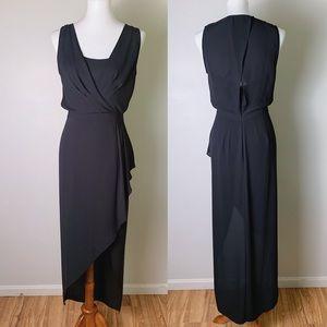 BCBGMAXAZRIA Tobyn Asymmetrical Hi-Low Dress
